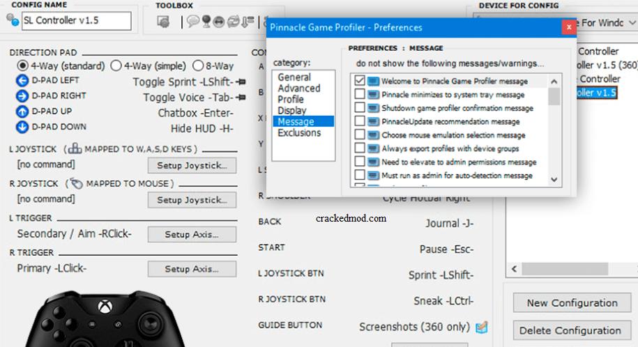 Pinnacle Game Profiler Key